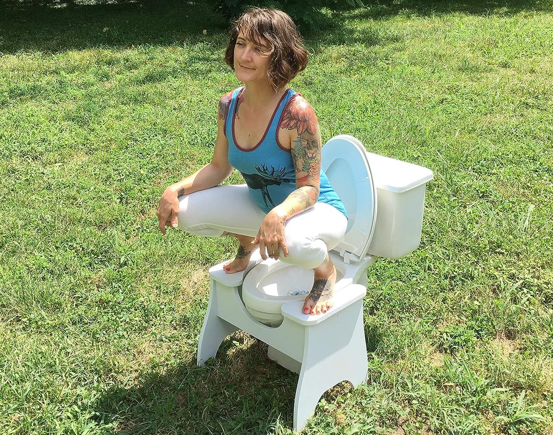Max 56% OFF Poop Stoop High Full-Squat Squatting Stool Regular discount Toilet