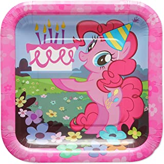 American Greetings My Little Pony Party Supplies, Paper Dessert Plates (40-Count)