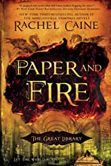 Paper and Fire (The Great Library Book 2) Kindle Edition
