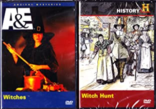 The History Channel : Witch Hunt the Salem Witch Trials , Ancient Mysteries Witches the History of Witchcraft : 2 Pack