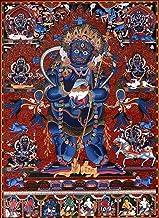 Two Armed Standing Mahakala - Superfine Brocadeless Thangka - Tibetan Thangka Painting