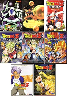 Dragon Ball Z Movie Collection - 12 DVD Movies (2 Box Sets & 6 Singles) Dead Zone, World's Strongest, Tree of Might, Cooler's Revenge, Return of Cooler, Lord Slug, Broly Second Coming, Broly Super Saiyan, Fusion Reborn, History of Trunks, Super Android 13, Wrath of the Dragon