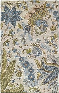 Kaleen Rugs Khazana Collection 6592-01 Ivory Hand Tufted 2' x 3' Rug