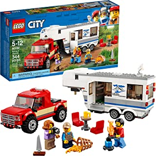 LEGO City Pickup & Caravan 60182 Building Kit (344 Pieces)