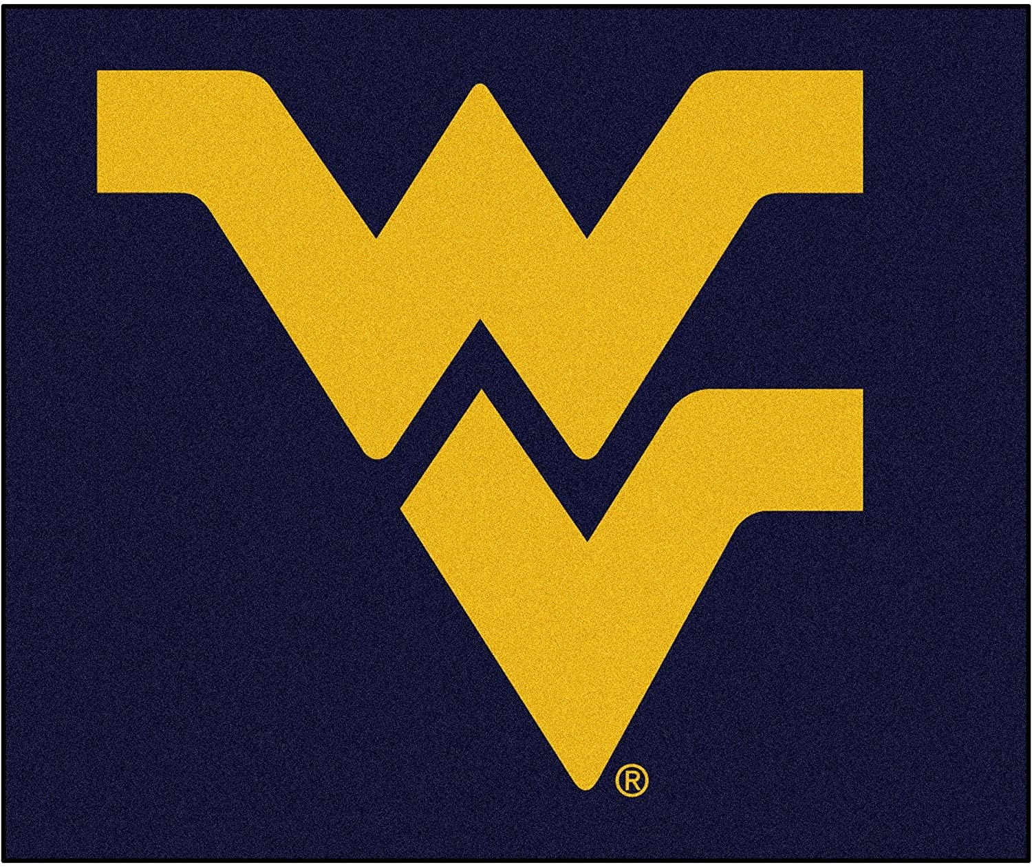 (West Virginia Mountaineers)  Fanmats 02464 West Virginia University Tailgater Rug