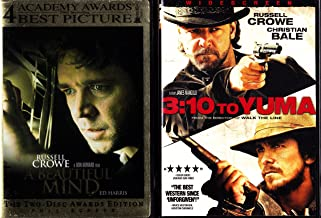 3:10 to Yuma , a Beautiful Mind : Russell Crowe 2 Pack Collection