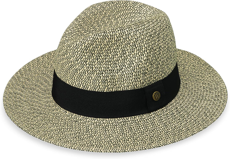 Wallaroo Hat Company Women's Josie Fedora – UPF 50+, Lightweight, Adjustable, Packable, Designed in Australia