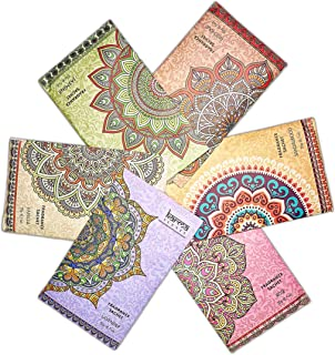 Premium Scented Sachets for Drawers, Closets and Cars, Lovely Fresh fragrance, Lot of 18 Bags, By Karma Scents, contains 6 great smelling flavors,Vanilla,Sandalwood,Jasmine,Lavender,Patchouli,And Rose