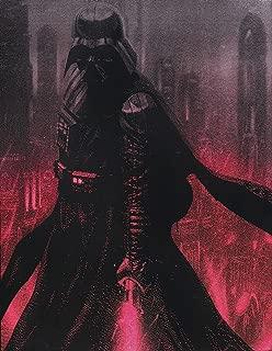 Darth Vader Lightsaber Star Wars Metal Painting Poster