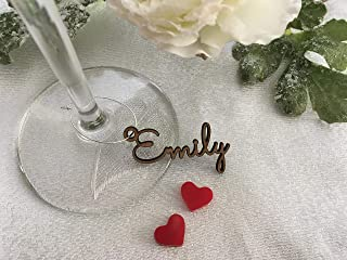 Best personalized wedding wine charms Reviews