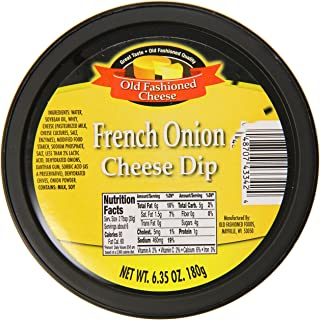 Old Fashioned Cheese Dip, French Onion, 6.35 Ounce (Pack of 12)