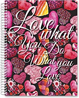$24 » Tools4Wisdom Softcover Planner 2021-2022 - April 2021 to June 2022 Academic Year Calendar - 8.5 x 11 B&W Daily Planner Pag...