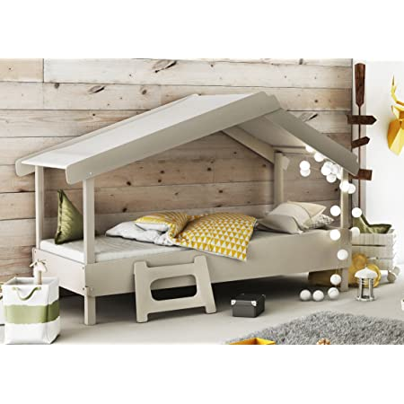 Miroytengo Cama Infantil Forma de casa o cabaña diseño ...