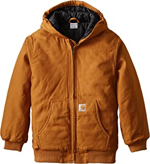 Boys' Work Active Jac Taffeta Quilt Lined Jacket Coat