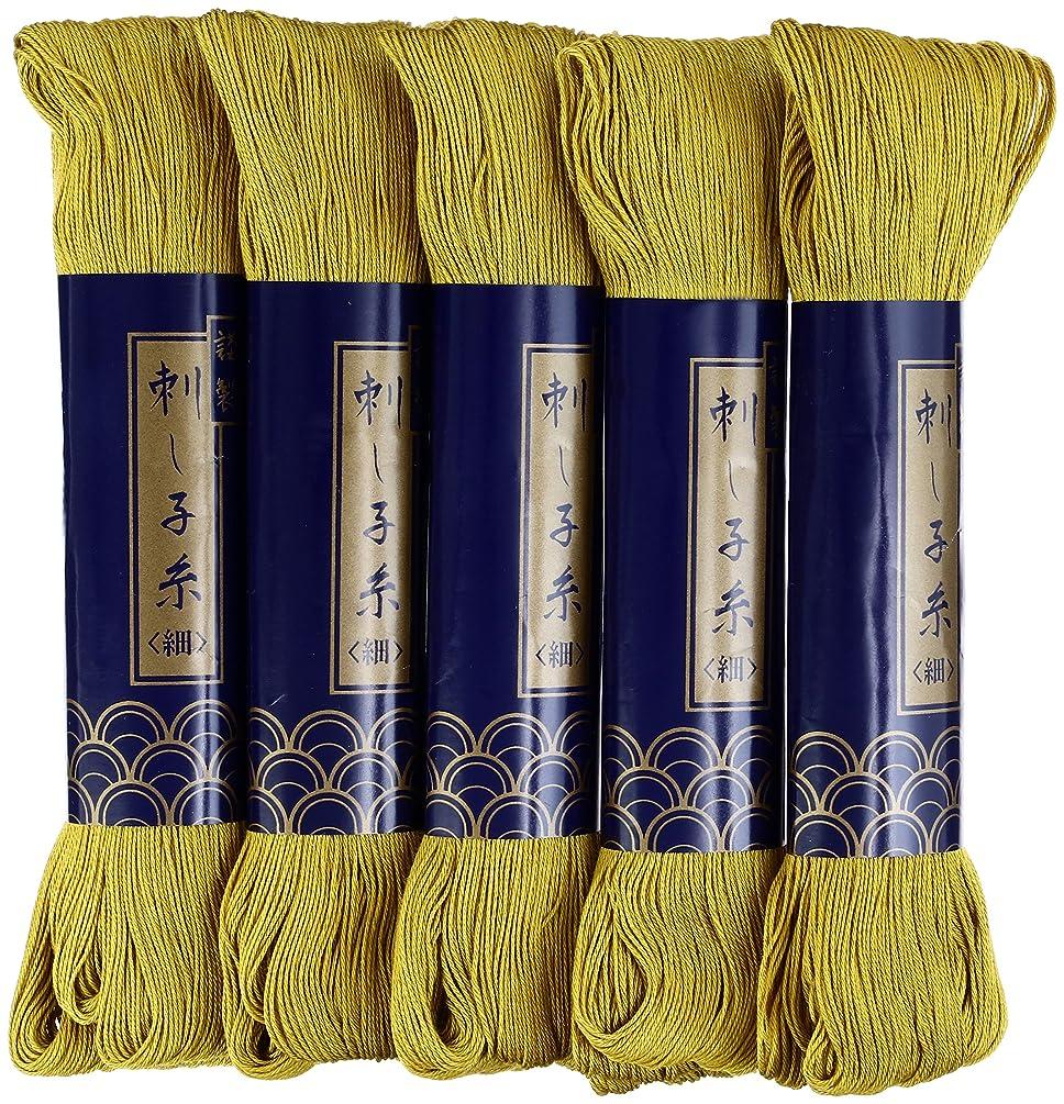 Sashiko Thread-Thin 170m 5X1 (Gold Brown)
