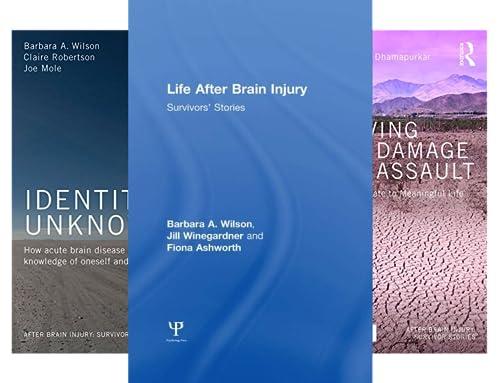 After Brain Injury: Survivor Stories (15 Book Series)