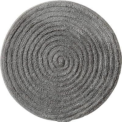 Spirella 1212370 Textile Rug Day Dark Grey 60 Red, White, Standard