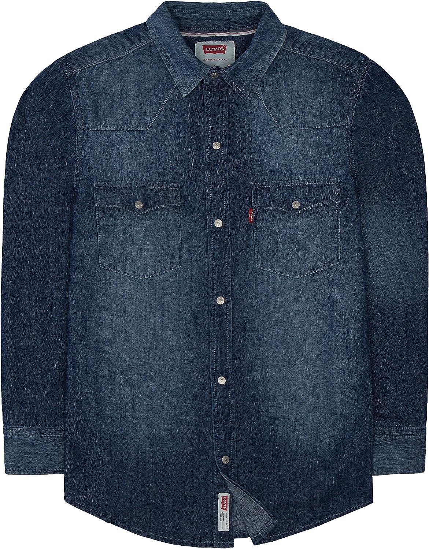 Levis Barstow Western Denim Shirt Camisa para Niños