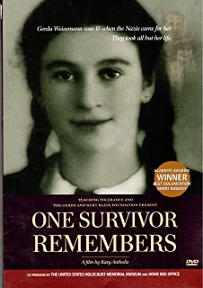 One Survivor Remembers (DVD FILM and TEACHER'S GUIDE and RESOURCES)