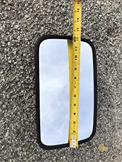 "Replacement 7"" x 12"" tractor mirror for lines such as John Deere, Case IH, Challenger, Agco, New Holland, Massery Ferguson, and Versatile by Maverick Advantage"