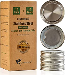 Best stainless steel mason jar Reviews