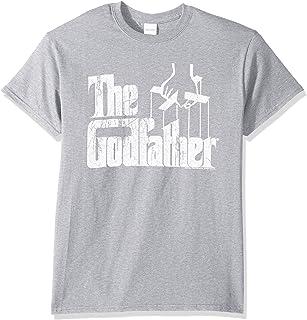 تي شيرت رجالي مطبوع عليه شعار Godfather Distressed من American Classics