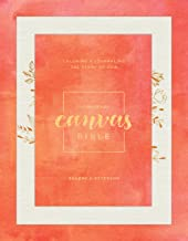 The Message Canvas Bible (Canvas-Look, Gold Leaf): Coloring and Journaling the Story of God