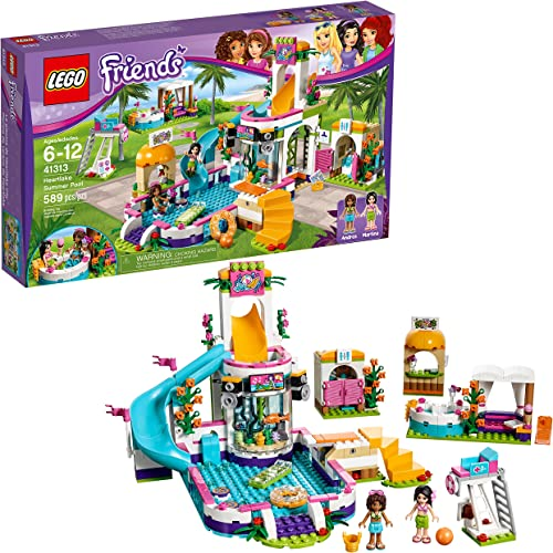 2021 LEGO Friends Heartlake Summer 2021 Pool 41313 new arrival (Discontinued by Manufacturer) online sale