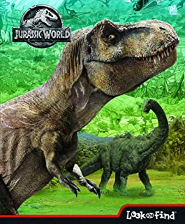 Jurassic World Look and Find Activity Book - PI Kids