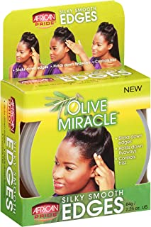 African Pride Olive Miracle Silky Smooth Edges 2.25 Ounce (66ml)