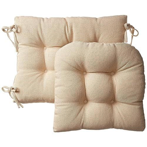 Genial Klear Vu Gripper Jumbo Saturn Rocking Chair Cushion Set Natural
