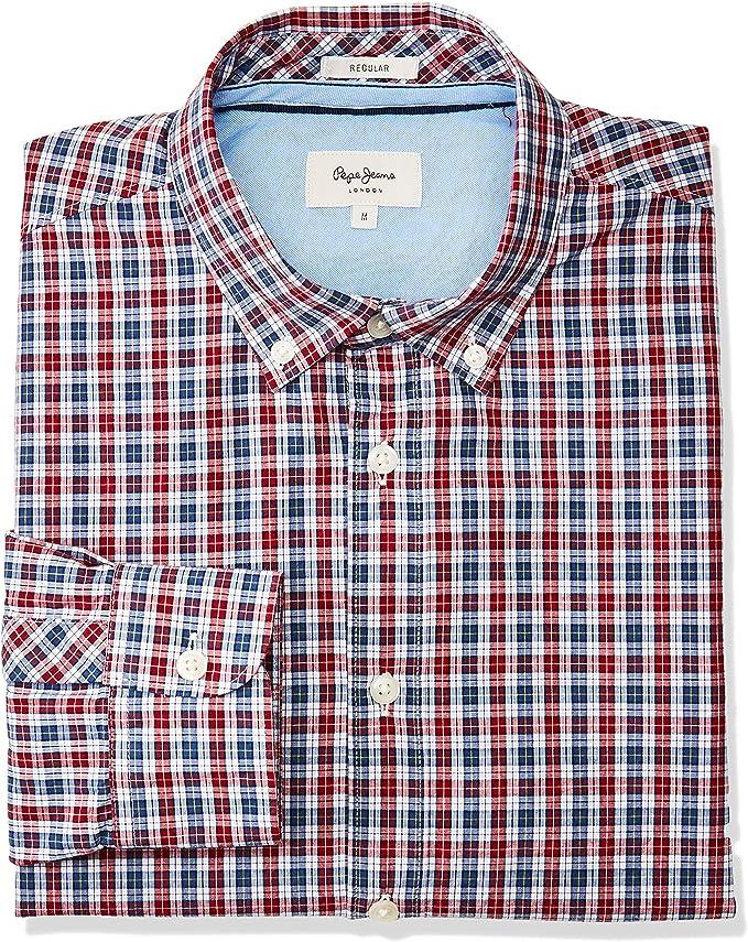 Pepe Jeans Camisa Thomas Cuadros para Hombre
