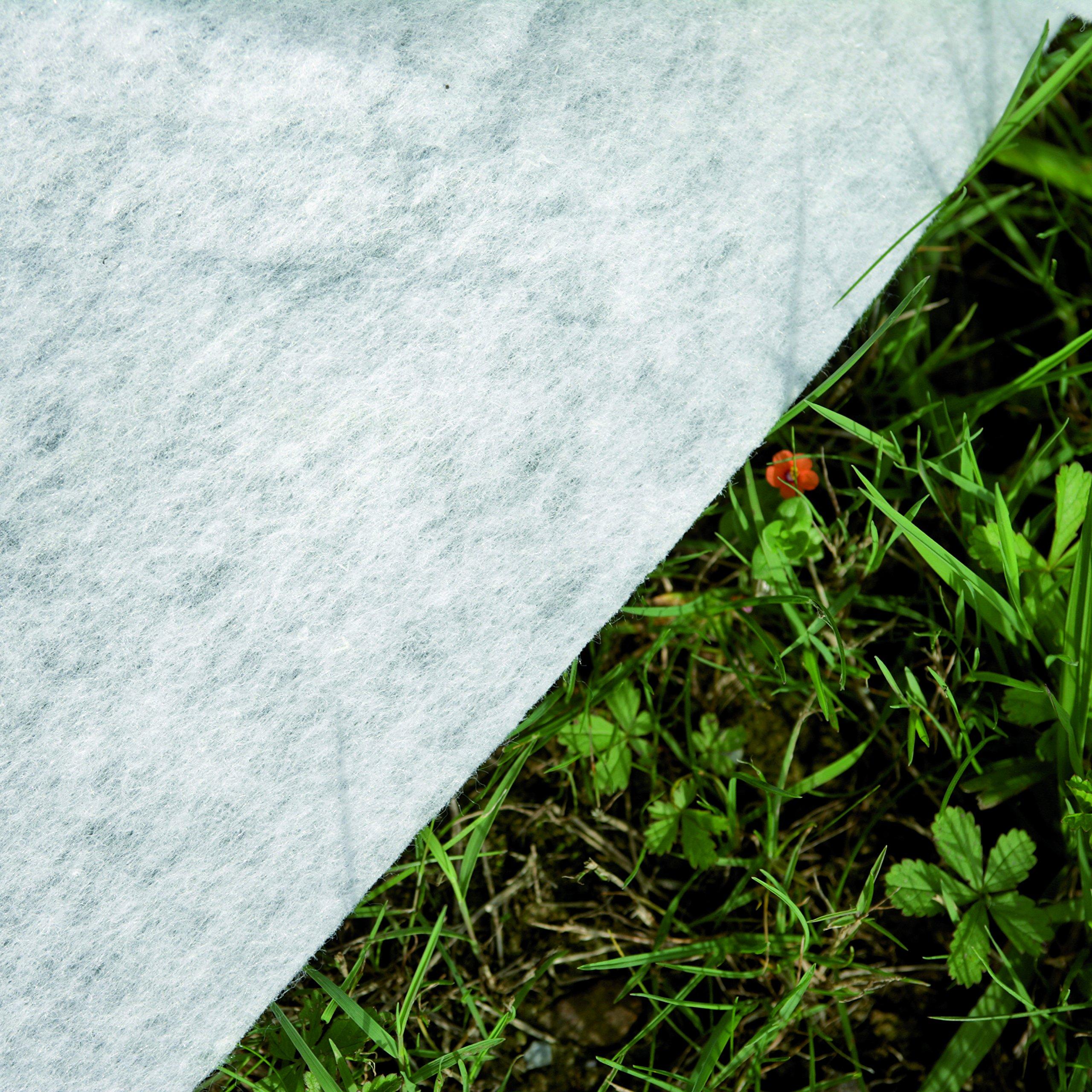Gre MPR250 - Manta Protectora para Piscina Redonda de 240 cm de Diámetro, Color Blanco: Amazon.es: Jardín