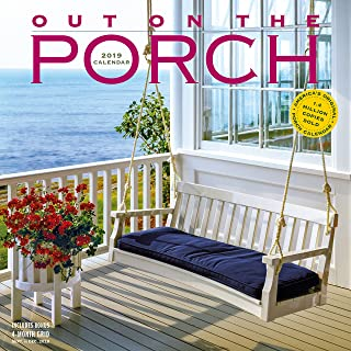 Out on the Porch Wall Calendar 2019 - coolthings.us