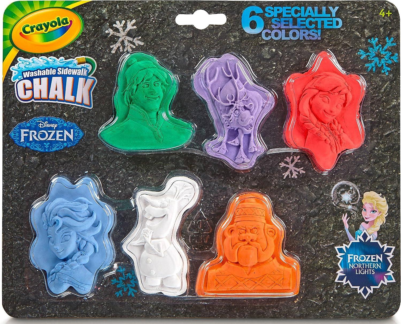 Crayola 6 New Shipping Free Shipping Philadelphia Mall ct. Washable Chalk Disney Shapes Frozen