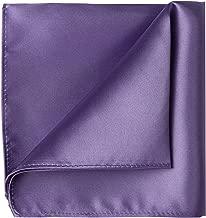 KissTies 1PC/6PCS Satin Pocket Square Wedding Party Solid Handkerchief + Gift Box