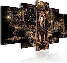 "artgeist Canvas Wall Art Print Africa 100×50 cm / 39.37""x19.68"" 5pcs Home.."