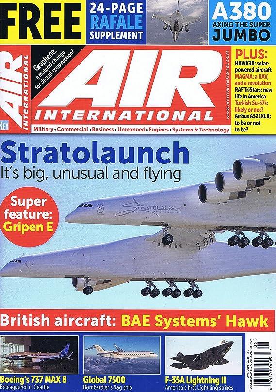 一生リフレッシュ一元化するAir International [UK] June 2019 (単号)