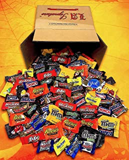 Candy & Chocolate HERSHEY'S Nestle M&M'S Variety Assortment Mix Bulk GIFT BOX (93.6 oz 160 Count ALL Chocolate)