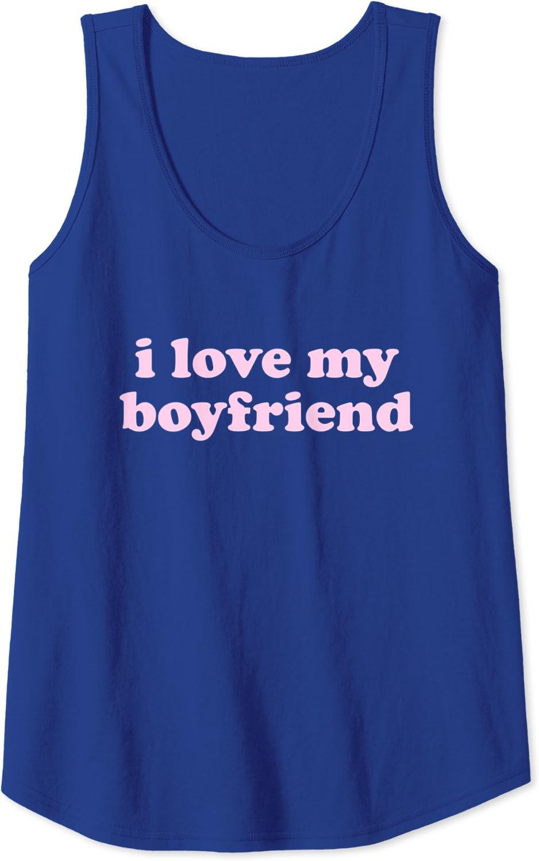 1904P Red Heart Love Mens Tank Top Gift for Girlfriend Boyfriend Tanks for Men