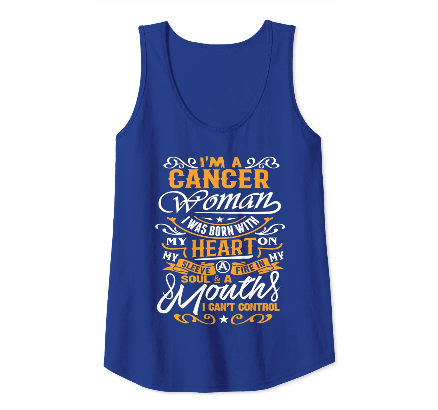 Amazon Cancer Clothes Im A Woman Zodiac Birthday Gifts Tank Top Clothing