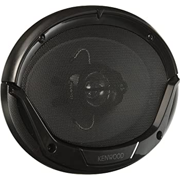 Kenwood KFC-6965S 6 x 9 Inches 3-Way 400W Speakers, Pack of 2