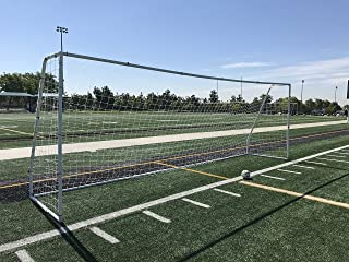 Pass Premier 24x8 FT. Official Regulation Size Soccer Goal. Strongest Heavy Duty 2