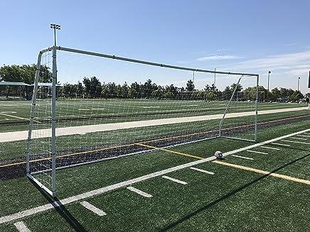 Pass Premier 24x8 FT. Official Regulation Size Soccer Goal. Strongest Heavy Duty 2
