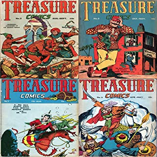 Treasure Comics. Issues 2, 3, 5 and 6. Features Marco Polo, Paul Buyan, Arabian Knight and Dr Styx. Digital Comic Compilations Action and Adventure