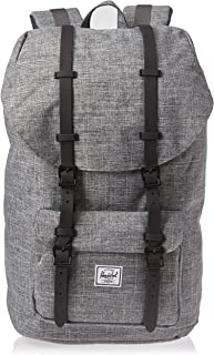Herschel Unisex-Adult Herschel Little America Backpack, Raven Crosshatch - 10014