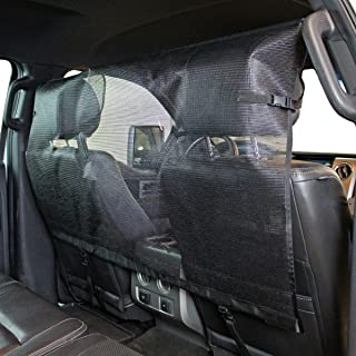 Paws 'N' Claws - Dog Barrier for Vehicles - Pet Restraint Car Backseat Divider Vehicle Gate Cargo Area Car Truck SUV Trunk Mesh Net