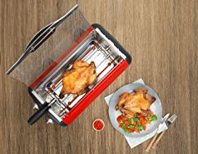 Clearline Appliances - Full Chicken Rotisserie Grill with Auto-Off Timer