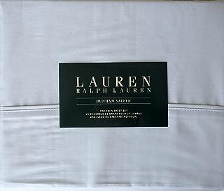 Ralph Lauren 3 Piece Twin Sheet Set Silver