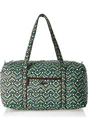 Ambesonne Abstract Gym Bag Nature Spring Floral Large Weekender Carry-on